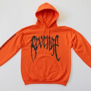 REVENGE u0026#39;KILLu0026#39; HOODIE - MENS Orange Sweatshirt - XXXTentacion -Bad Vibes Forever   eBay