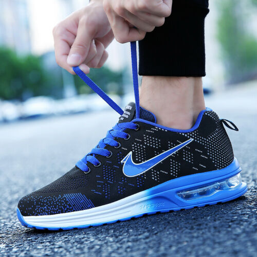 Mens Air Bottom Breathable Shoes Flyknit Sports Athletic Shoes Trainers Outdoor