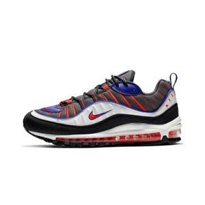 SCARPE-NIKE-Air-Max-98-Sneakers-Uomo-Grigio-Nero-640744-012-LIMITED-EDITION-ORIG