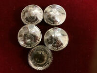 Conchos: 5 Real Coin German 2 Mark, 62% Silver, Post & Screw