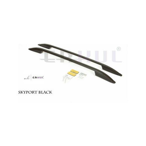 FIT FOR SUBARU XV Roof Rails Luggage Port Rack Bar Black 2012-2018