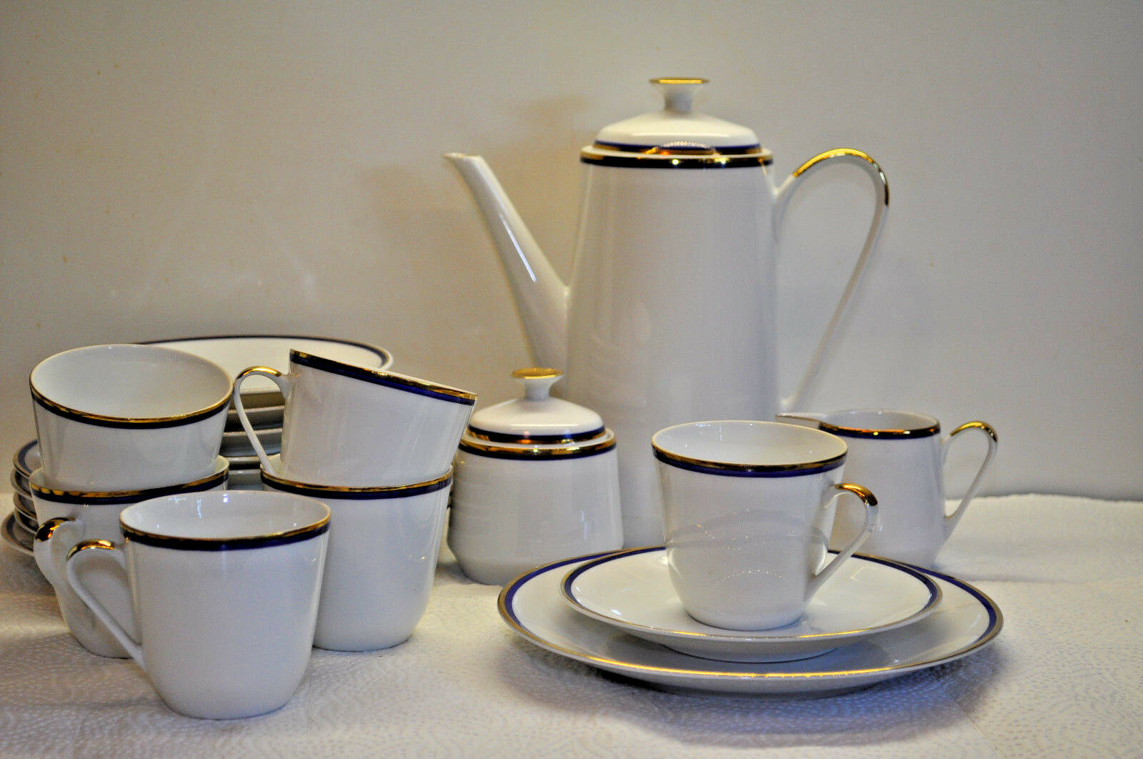 Kaffeeservice  Händel - Bavaria  für  6 Personen 21 Teile