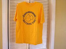 Banthongyord Thailand Badminton Club School BBS Yellow Men's Tee Shirt 2XL XXL