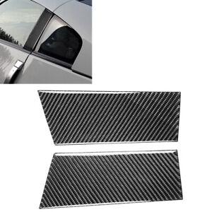 Z33 AutoTecknic Carbon Fiber B-Pillar Covers Fits Nissan 350Z