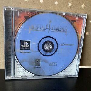 Mortal-Kombat-4-Sony-PlayStation-1-1998-PS1-NM-Tested-amp-Working-No-Manual