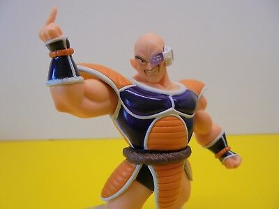 Nappa Dragon Ball Z HG Series Gashapon Mini Figure Renewal Color Version