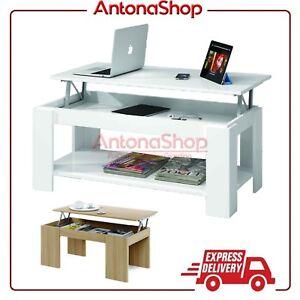 Tavolino moderno basso apribile tavolinetto divano tavolo for Tavolo salotto