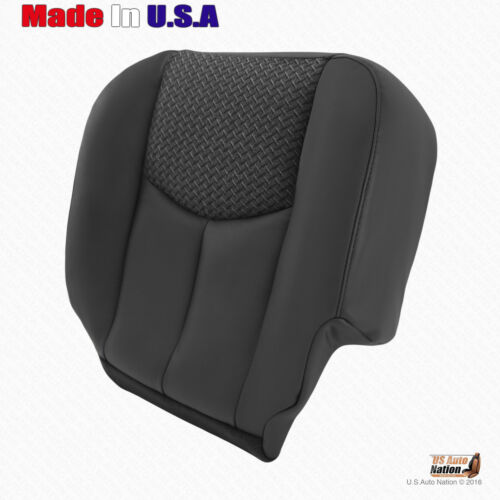 Driver Bottom Leather//Cloth Seat Cover For 2003 2004 Chevy Avalanche 1500 2500