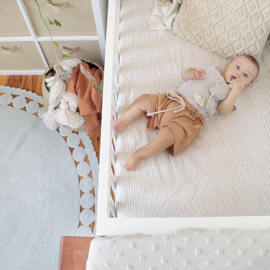 Crochet rug 150cm - Baby nursery decor unisex rug