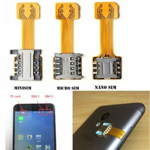 Adapter Für Sim Karte.Details Zu Universal Tf Hybrid Sim Slot Adapter Für Zwei Sim Karten Micro Sd Extender Nano