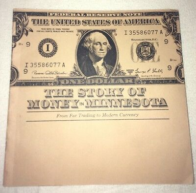 Rare Vintage F&m Savings Bank Fdic The Story Of Money In Minnesota Book Htf Vtg Collectibles
