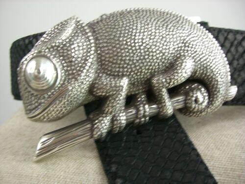 BRA-S02 Schließe Schnalle für Wechselgürtel wie Reptile/'s House Schraubgürtel