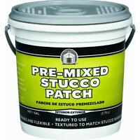Gallon Interior/exterior Stucco Patch Dap 60817 Covers Cracks & Fills Holes 2pk