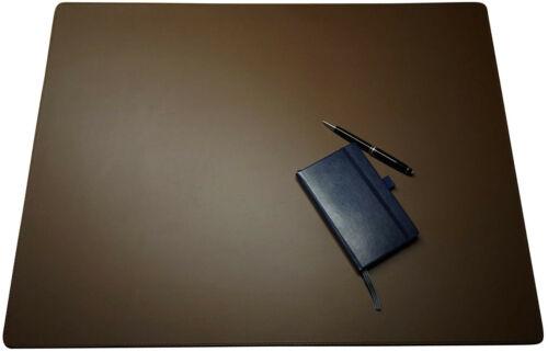 Echt Schreibtischauflage Leder Schreibunterlage braun oder schwarz glatt