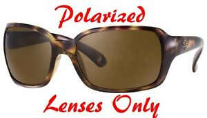 4cb047cc364 POLARIZED BROWN + Gradient Ray Ban RB 4068 High Street Replacement ...