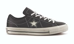 Leather One Black Converse Star Ox Bv6wtq