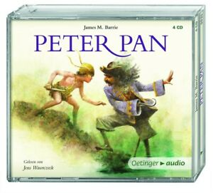 JAMES-M-BARRIE-PETER-PAN-4-CD-NEW