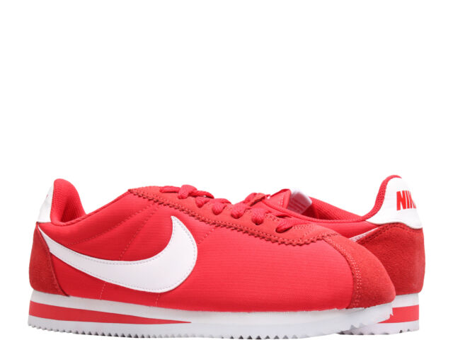 newest afc71 52111 Nike Classic Cortez Nylon University Red/White Men's Running Shoes  807472-604