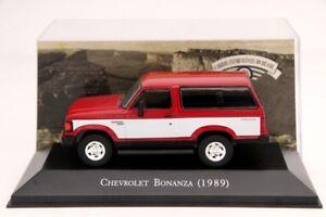 1-43-Altaya-Chevrolet-Bonanza-1989-Diecast-Car-Models-Limited-Edition-IXO-Toys