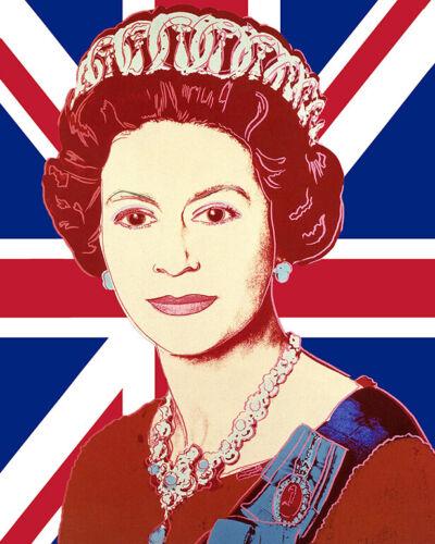 Queen Elizabeth II Popart  Art Print Art Poster Andy Warhol