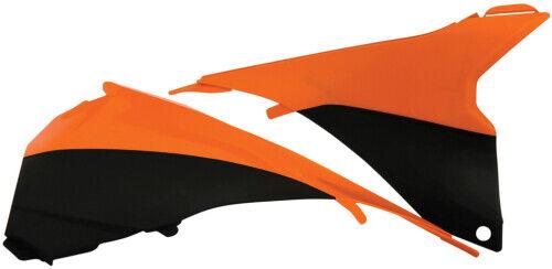 Acerbis Air Box Flo Orange//Black Cover For KTM 125-450 SX 13-15 2314294617
