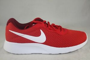 598f0eb4d0acc Details about MEN'S NIKE TANJUN 812654-616 UNIVERSITY RED/RED/WHITE-TEAM  RED SIZE 8.5