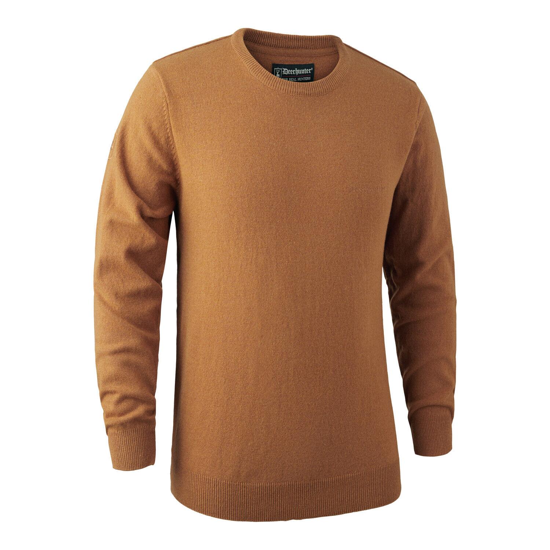 Deerhunter Brighton Knit o Neck Jumper suéter amarillo disparo caza de país