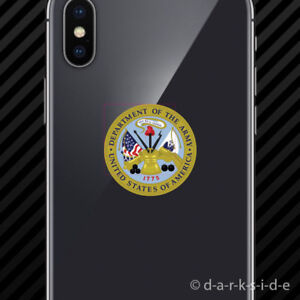 2x-Department-of-the-Army-Seal-Cell-Phone-Sticker-armed-forces-united-states