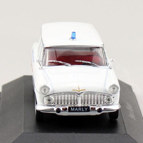 Simca Marly Krankenwagen Ambulanz Rotes Kreuz 1:43 Atlas Modellauto 10