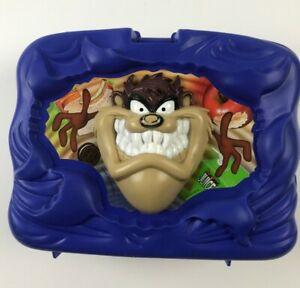 TAZMANIAN-DEVIL-LUNCHBOX-amp-THERMOS-Looney-Tunes-Warner-Bros-TAZ-Lunch-Box-1996