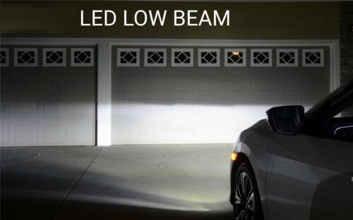 FOR Ford Transit MK7 6000K White Intense High//Low Dip Beam Headlight Bulbs 4PC