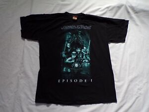Star Wars Episode 1 La chemise Phantom Menace Vintage Large