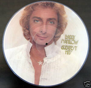 BARRY-MANILOW-PICTURE-VINYL-LIMITED-RARITAT