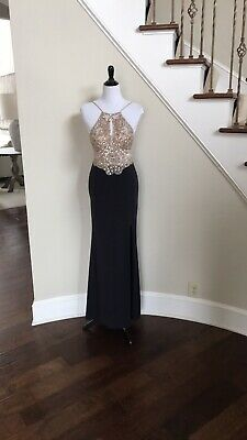 BLONDIE NITES Mint Formal Evening Prom Gown 7 $190 NWT