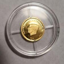 2000 Liberia $25 Gold Proof John F. Kennedy 999 Fine-Free USA Ship-JFK /20,000