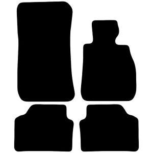 Tailored-Black-Car-Floor-Mats-Carpets-4pc-Set-for-BMW-3-Series-E90-E91