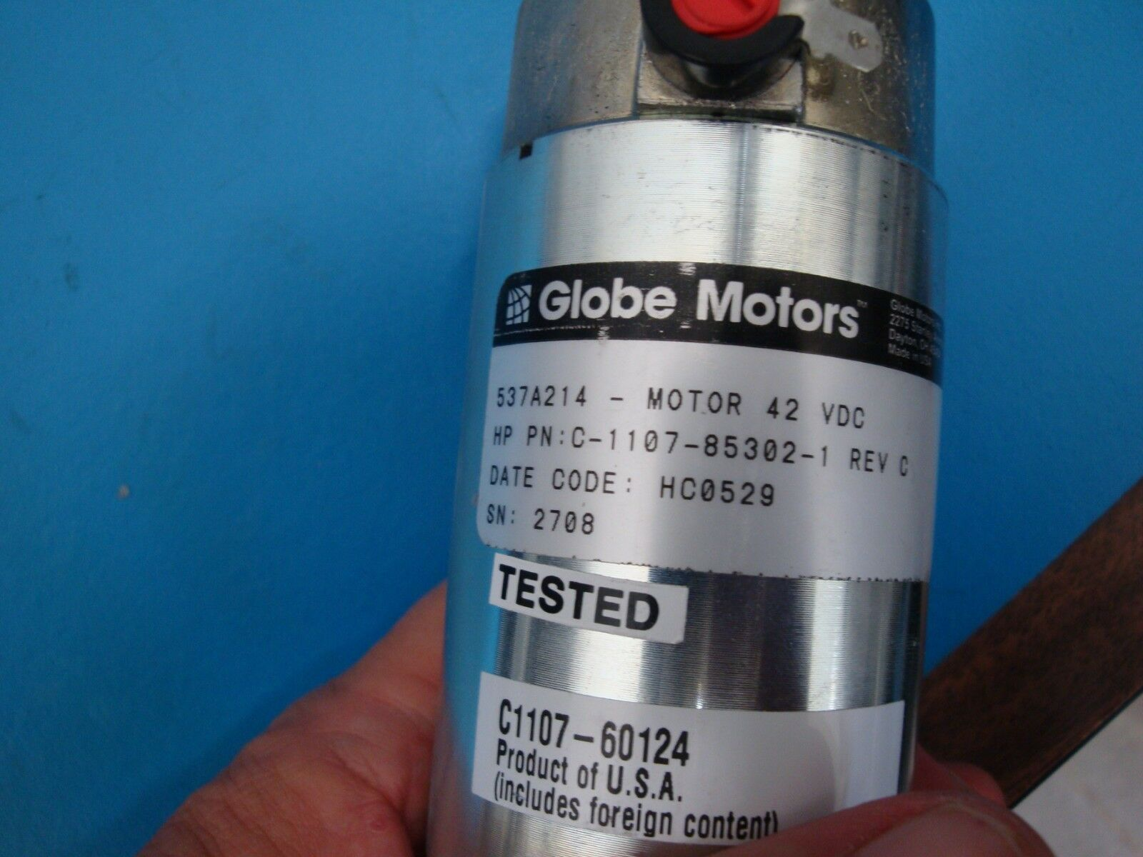 HP C1107-85302 C1107-60124 Optical Library Vertical Motion Motor