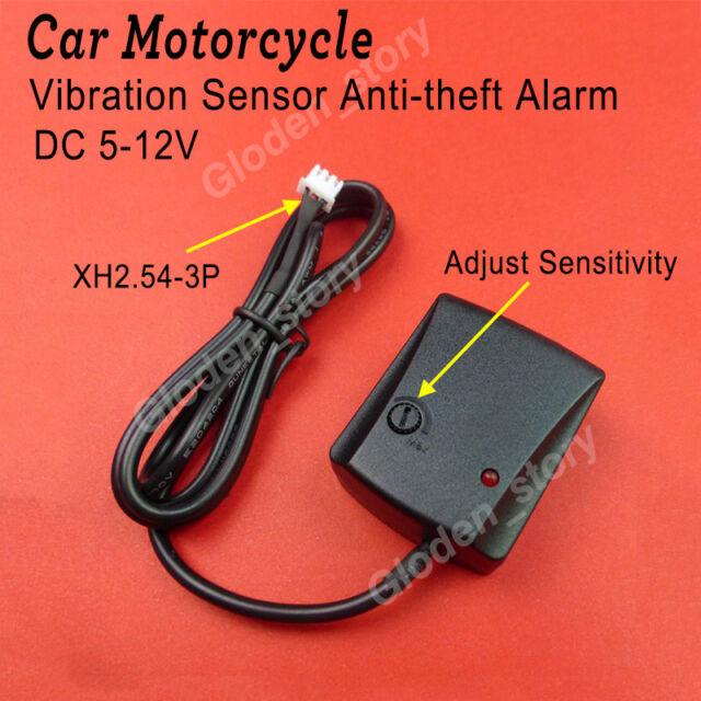 12V Car Vehicle Security System Burglar Alarm Protection Anti-theft Tools