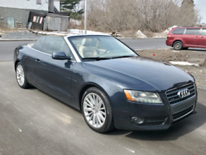 AUDI A5 CONVERTIBLE AWD ONLY 85KM CERTIFIED