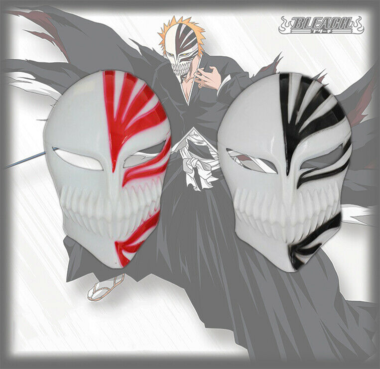 Kurosaki Mask Bleach Ichigo Bankai Anime Figure Hollow Halloween Cosplay For Sale Online Ebay