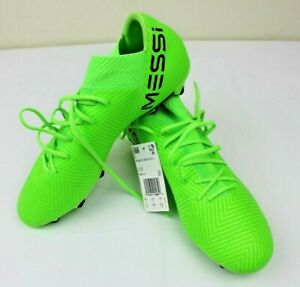 c9134d8215b6 Adidas Nemeziz Messi 18.3 FG Soccer Cleats Shoes DB2113 Green Black ...