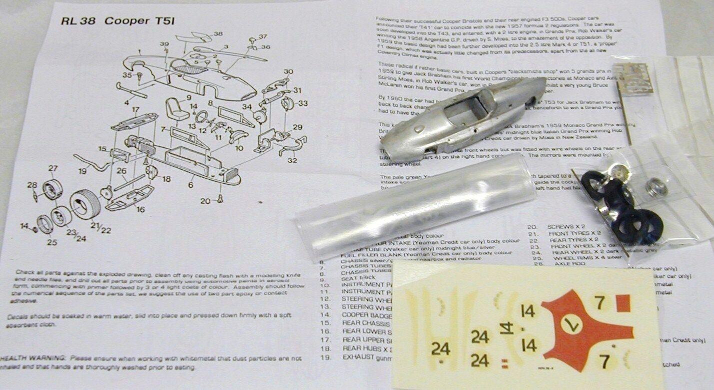 marca 1 1 1 43 RL38K T51 Kit por SMTS Cooper  entrega gratis
