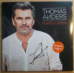 Thomas Anders 2lp Pures Leben 2017 Neuhandsigniert Album Auf