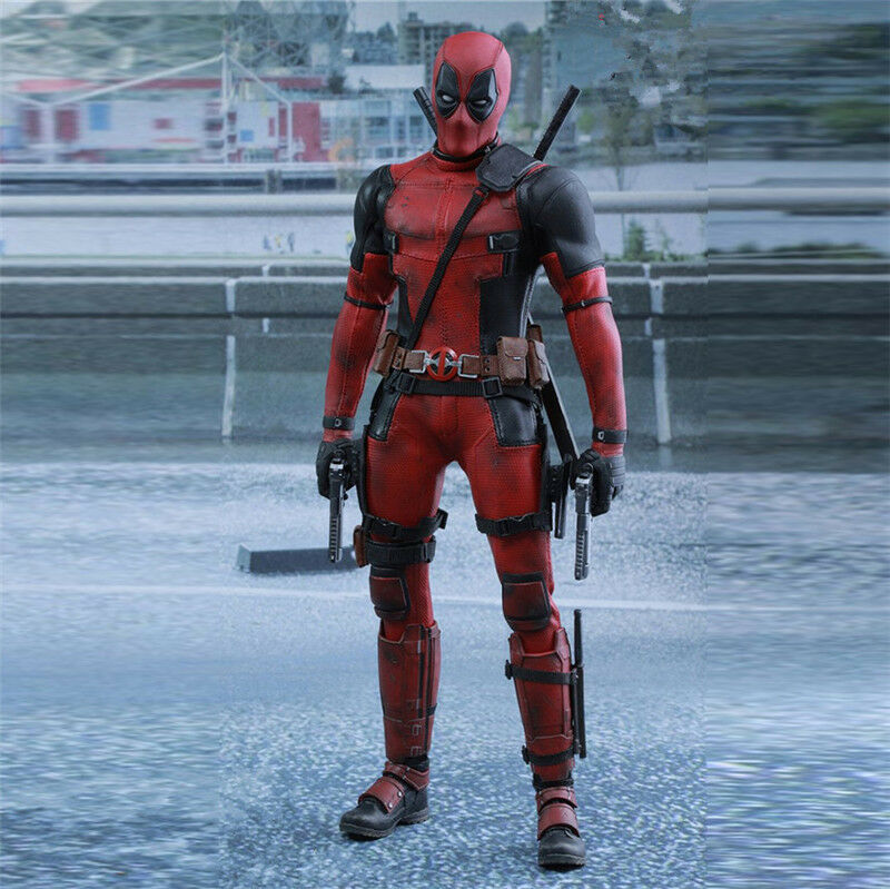 HC Juguete 1/6 Deadpool MMS347JM Wade Wilson, Ryan Reynolds Estatua Figura De Acción Caja