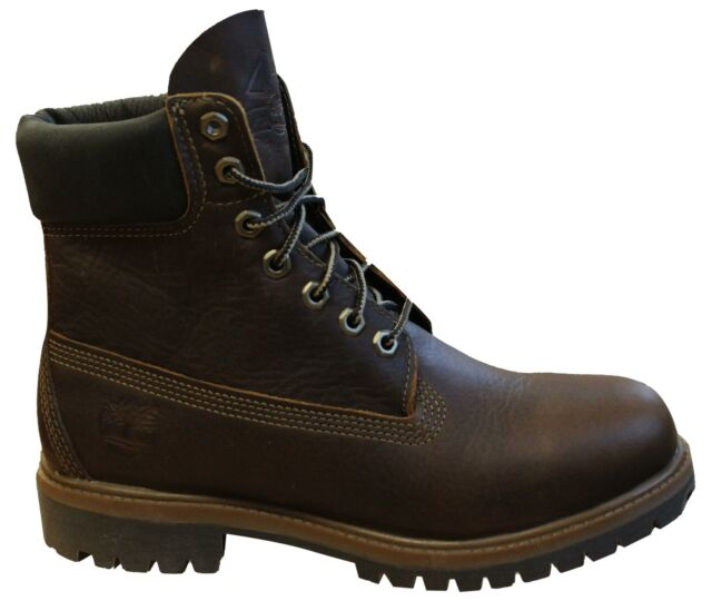 Timberland 45th Anniversary Premium 6 Inch Brown Leather Mens Boots A1R1B
