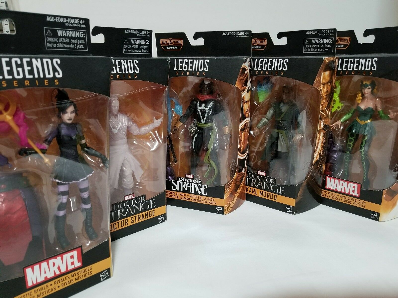 MARVEL LEGENDS DOCTOR STRANGE DORMAMMU azione cifra BAF SET  OF 5 nuovo SEALED  sconto online di vendita