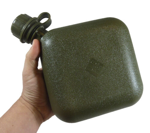 Canteen 2 Quart Olive Drab Mil C 43603 Usgi American Made BPA Free Water Carrier