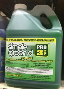 Disinfectant-Simple-Green-d-Pro-3-Plus-Antibacterial-Concentrate-1-gal-Bottle