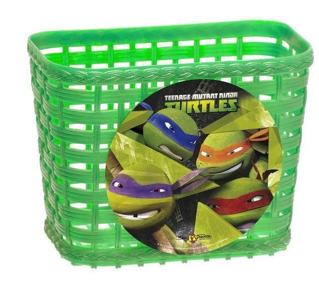 771811f026253 Teenage Mutant Ninja Turtles Handlebar Basket Plastic Bike 818053 for sale  online