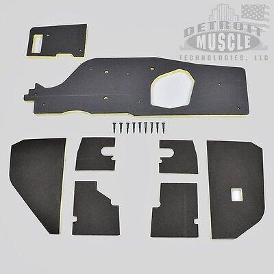 Mopar E Body 70-74 AC Heater Box Back Insulation Barracuda Challenger DMT